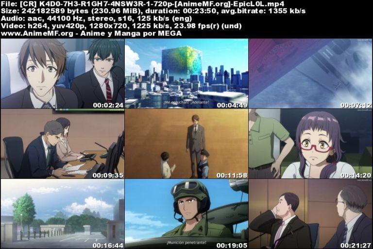 Vista previa de Seikaisuru Kado 01 HD Sub Español MEGA