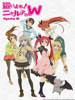 Descargar Haiyore! Nyaruko-san W en Sub Español por MEGA